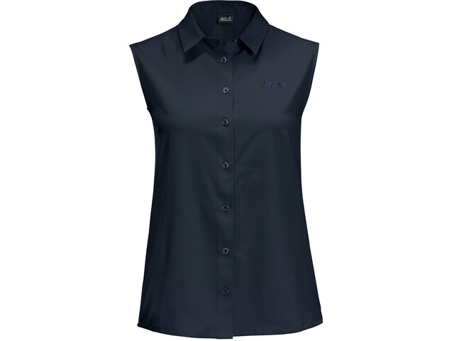 Jack Wolfskin Sonora Sleeveless Shirt Women midnight blue
